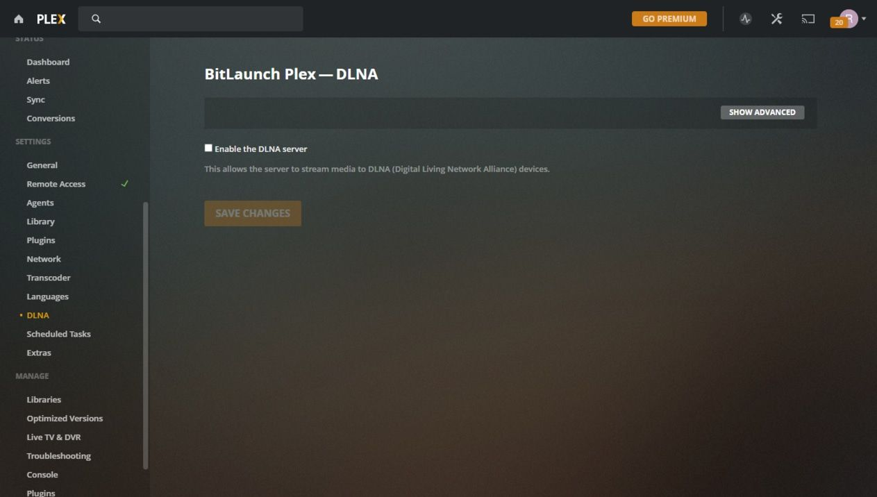 enable-dlna