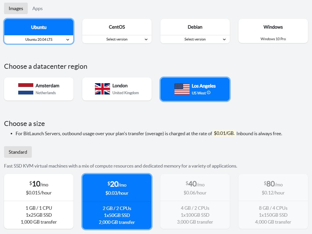 bitcoin-node-server-choice